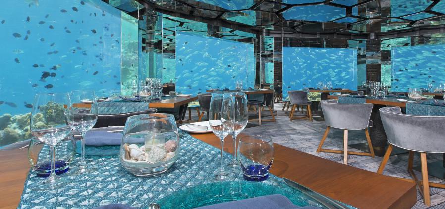Hotel Anantara Kihavah Villas -Sea_underwater_restaurant