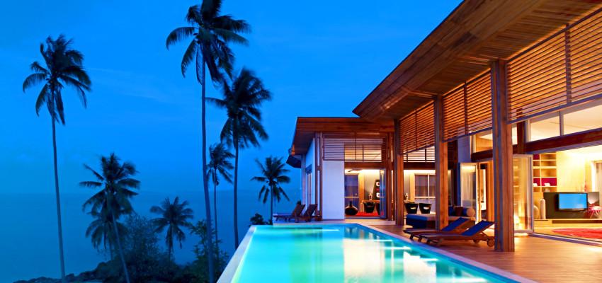 Hotel W Retreat - Thailand - Koh Samui - Aussenansicht