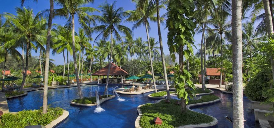 bayan three phuket swimming pool